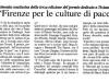Firenze per le culture di pace