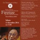 """Cerimonia di Premiazione Premio """"Firenze per le Culture di Pace"""" 2014"""