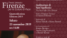 Premiazione Premio Firenze per le culture di Pace 2019
